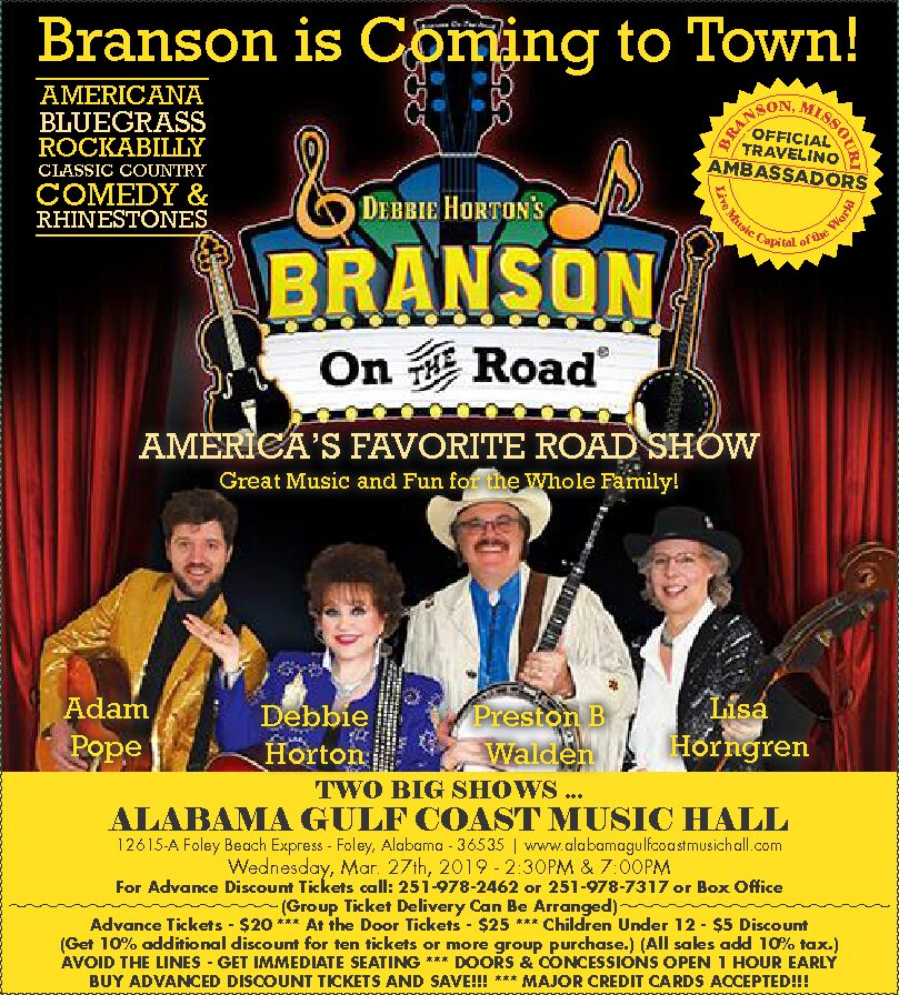 Branson On The Road - America's Favorite Road Show